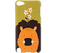 Lion Pattern Protective Hard Case for iPod Touch 5