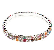 Double Diamond Fashion Bracelet