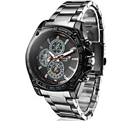 Men's Racing Style Black Alloy Quartz Wrist Watch Cool Watch Unique Watch Fashion Watch