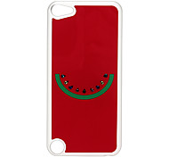 Watermelon Pattern Hard Case with Rhinestone for iPod Touch 5
