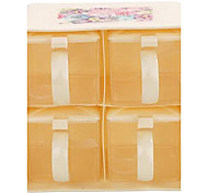Double-Layer-4 Container Gewürz Menage Box Set