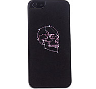 Purple Skull Pattern Hard Case for iPhone 5/5S