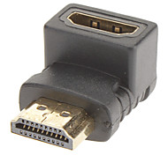90 Degree to Left HDMI M/F Adapter for V1.3/V1.4