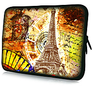 """Eiffel Tower Pattern"" Pattern Waterproof Sleeve Case For 7""/10""/11""/13""/15"" Laptop&Tablet"