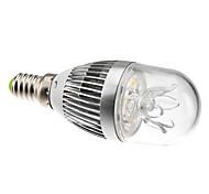 E14 3 W 3 High Power LED 270 LM Warm White C35 Globe Bulbs AC 85-265 V