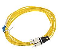 cabo de fibra óptica, lc / fc-upc, monomodo, duplex - 3 metros (9/125 de tipo)