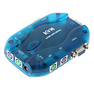 2 Port PS/2 VGA Auto KVM Switch MT-201UK for High Speed Data Sharing Interface