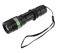 LED Flashlights / Handheld Flashlights LED 3 Mode 200 Lumens Adjustable Focus / Rechargeable / Tactical / Self-Defense Cree XR-E Q518650