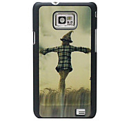 Scarecrow Pattern Hard Case for Samsung Galaxy S2 I9100