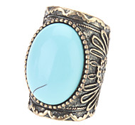 Fashion Personality Turquoise Gem Ring