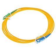 Cabo de fibra óptica, SC / SC-APC, Single Mode - 3 metros