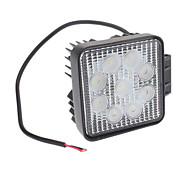 27W Natural White Light Bulb LED para Projector de carro (12V)