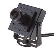 Indoor Black Mini 1/4 CMOS 420TVL Color cctv Security Pinhole Camera