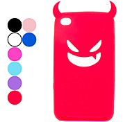 Devil Protective Silica Gel Case for iPod Touch 4 (Assorted Colors)