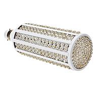 B22 23W 360-LED 1470-1500M de la luz blanca LED del bulbo del maíz 2800-3300K (85-265V)