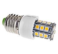 4W E26/E27 LED Mais-Birnen T 27 SMD 5050 330 lm Warmes Weiß AC 110-130 V