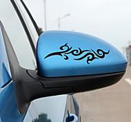 Diseño de moda etiqueta engomada decorativa del coche Fuego (2 piezas)