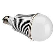 E26/E27 12 W 12 High Power LED 1080 LM Natural White A Globe Bulbs AC 85-265 V