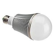 Lâmpada Redonda E26/E27 12 W 1080 LM 6000K K Branco Natural 12 LED de Alta Potência AC 85-265 V A