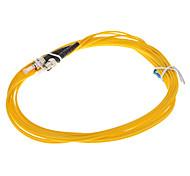 cabo de fibra óptica, lc-st-upc, monomodo, duplex - 3 metros (9/125 de tipo)