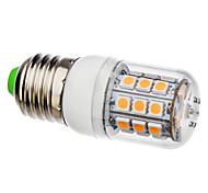 E26/E27 3.5 W 30 SMD 5050 360 LM Warm White Corn Bulbs AC 110-130/AC 220-240 V