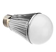 E26/E27 7 W 7 High Power LED 630 LM Warm White A60 Globe Bulbs AC 85-265 V