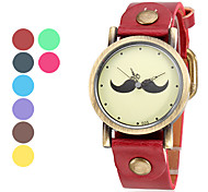 Women's and Girl's PU Quartz Analog Wrist Watch (Assorted Colors) Cool Watches Unique Watches