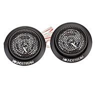 500W DIY Plastic Tweeters Speaker for Car Stereo Audio System  (Pair / DC 12V)