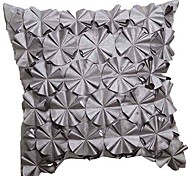 Modern Embroidery Geometric Polyester Decorative Pillow Cover