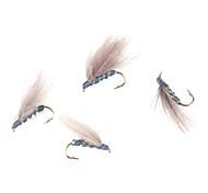 HOMA-Imitated Flies Fishing Lure SS10-10#hook(10pcs)