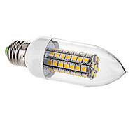 E26/E27 7 W 63 SMD 5050 650 LM Warm White C Decorative Candle Bulbs AC 220-240 V