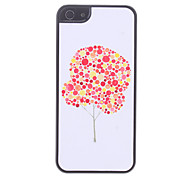 Red and Yellow Tree Pattern Hard Case for iPhone 5/5S
