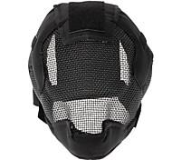 A terceira geração de Floresta Steel Wire Máscara de Proteção (Black)