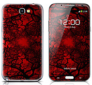 SX-111 Tree Pattern Front and Back Protector Stickers for Samsung Note 2 N7100