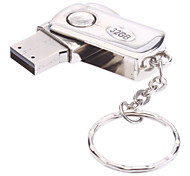 32GB Rotate Metal Material Mini USB Flash Pen Drive