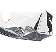 Открытый компактный легкий Алюминированных ветрозащитный чрезвычайных одеяло выживания лист