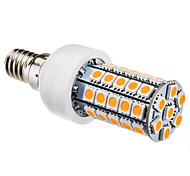 Lampadine a pannocchia 47 SMD 5050 T E14 4 W 280 LM Bianco caldo AC 220-240 V