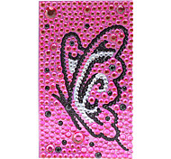 Dancing Butterfly Jewelry Protective Body Sticker for Cellphone