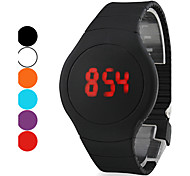 Men's Watch Touch Screen Calendar Red LED Digital Wrist Watch Cool Watch Unique Watch Fashion Watch