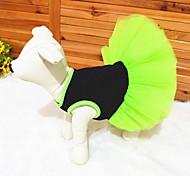 animal d'été cool style mignon de pays robe en dentelle couches pour les chiens