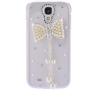 Bling Design Bowknot Style Rhinestone Hard Case for Samsung Galaxy S4 I9500