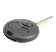 3-Button Remote Key Shell for Benz Smart