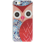 Owl Colored Drawing Hard Case for iPhone 5/5S