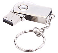 16gb gire material metálico mini usb pen drive Flash
