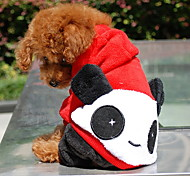 Panda Baby Sherpa Hoodie with Pants Suit for Dogs (XS-XL)