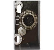 Retro Style Camera Pattern Hard Case for LG Optimus L5 E612