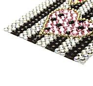 Bunte bowknot Stil mit rosa Herz Schmuck Protective Body Aufkleber für Handy