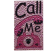 Cartoon Design Autocollant de bijoux pour téléphone portable et autres