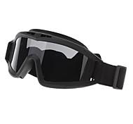 Al aire libre Goggle Desierto de protección con tres lentes (3 colores)