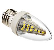 3W E26/E27 Luci LED a candela C35 48 SMD 5050 230 lm Luce fredda Decorativo AC 220-240 V